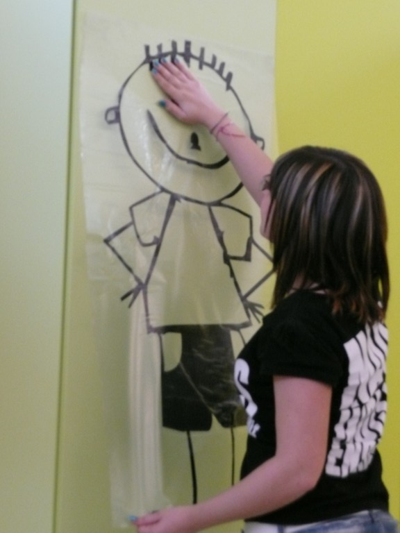 Applicare i nostri adesivi sui muri o sugli armadi della for Stickers armadi bambini