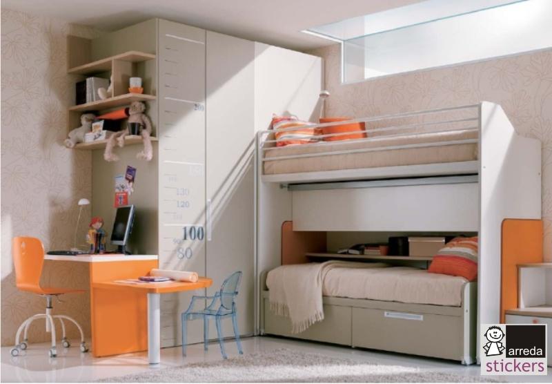 Casa moderna, roma italy: stanza per bambini