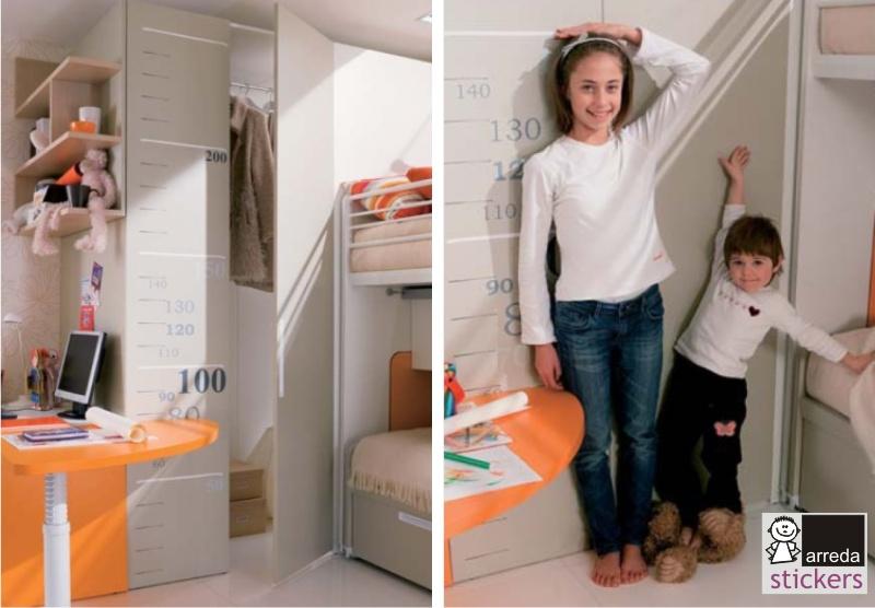 Arreda stickers adesivi murali e doimo dielle camerette per bambini